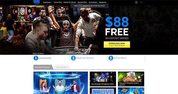 situs 888poker